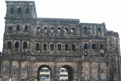 Porta Nigra (Svarta porten) i Trier